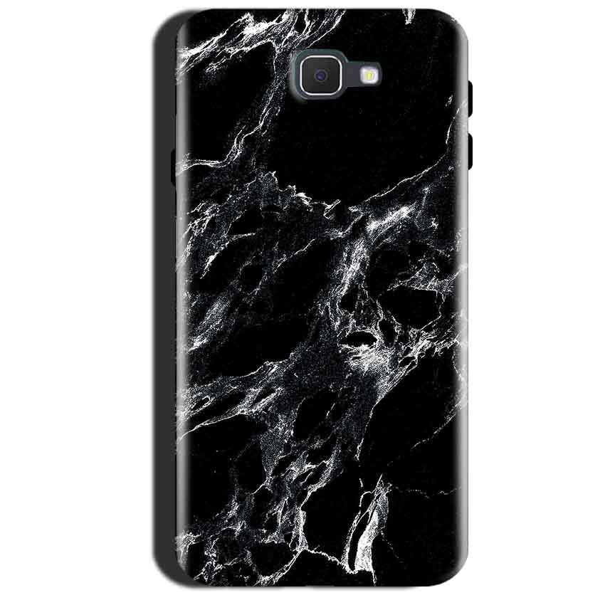 Samsung Galaxy A7 2017 Mobile Covers Cases Pure Black Marble Texture - Lowest Price - Paybydaddy.com