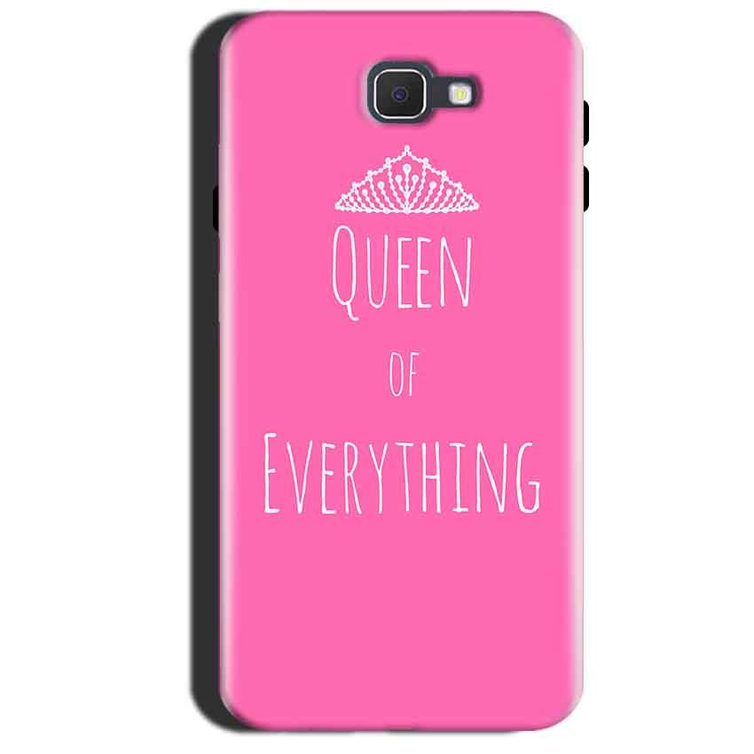 Samsung Galaxy A7 2017 Mobile Covers Cases Queen Of Everything Pink White - Lowest Price - Paybydaddy.com