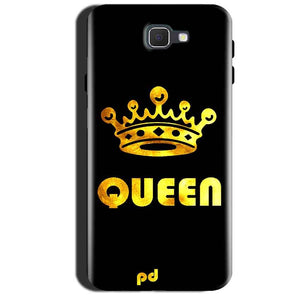 Samsung Galaxy A7 2017 Mobile Covers Cases Queen With Crown in gold - Lowest Price - Paybydaddy.com