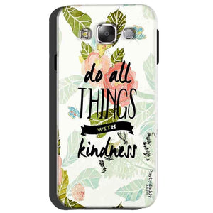 Samsung Galaxy A8 Mobile Covers Cases Do all things with kindness - Lowest Price - Paybydaddy.com