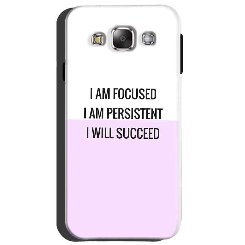 Samsung Galaxy A8 Mobile Covers Cases I am Focused - Lowest Price - Paybydaddy.com