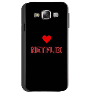 Samsung Galaxy A8 Mobile Covers Cases NETFLIX WITH HEART - Lowest Price - Paybydaddy.com
