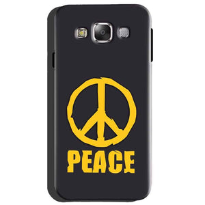 Samsung Galaxy A8 Mobile Covers Cases Peace Blue Yellow - Lowest Price - Paybydaddy.com