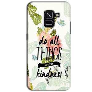 Samsung Galaxy A8 Plus Mobile Covers Cases Do all things with kindness - Lowest Price - Paybydaddy.com