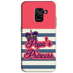 Samsung Galaxy A8 Plus Mobile Covers Cases Papas Princess - Lowest Price - Paybydaddy.com