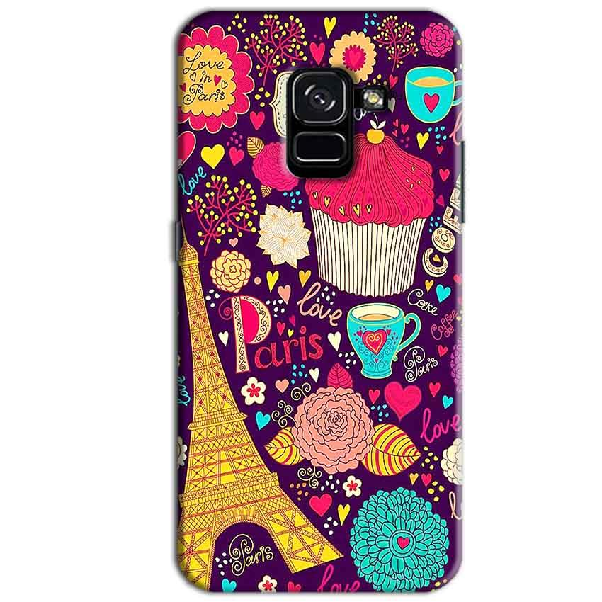 Samsung Galaxy A8 Plus Mobile Covers Cases Paris Sweet love - Lowest Price - Paybydaddy.com