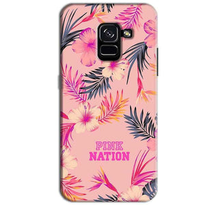Samsung Galaxy A8 Plus Mobile Covers Cases Pink nation - Lowest Price - Paybydaddy.com