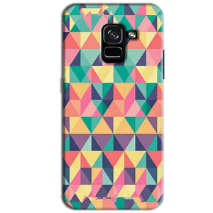 Samsung Galaxy A8 Plus Mobile Covers Cases Prisma coloured design - Lowest Price - Paybydaddy.com