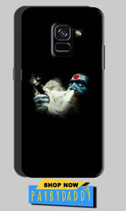 Samsung Galaxy A8 Plus Mobile Covers Cases Shiva Aghori Smoking - Lowest Price - Paybydaddy.com