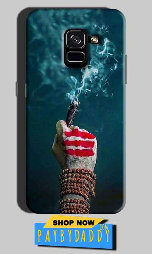 Samsung Galaxy A8 Plus Mobile Covers Cases Shiva Hand With Clilam - Lowest Price - Paybydaddy.com
