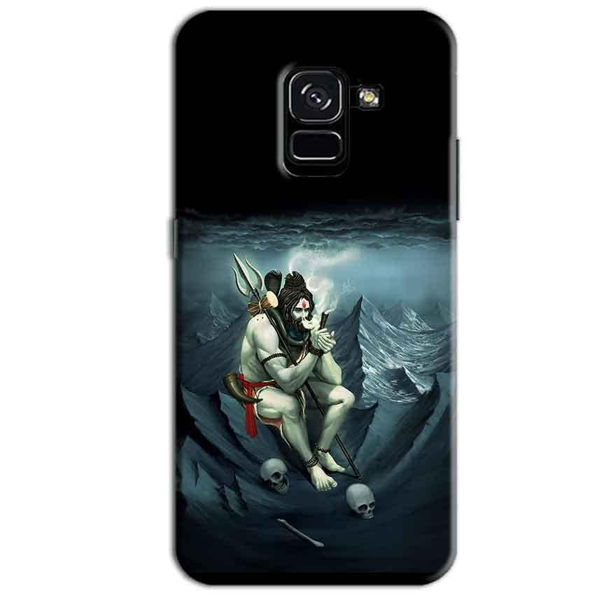 Samsung Galaxy A8 Plus Mobile Covers Cases Shiva Smoking - Lowest Price - Paybydaddy.com