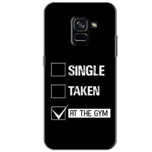 Samsung Galaxy A8 Plus Mobile Covers Cases Single Taken At The Gym - Lowest Price - Paybydaddy.com