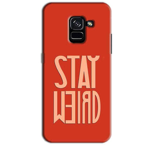 Samsung Galaxy A8 Plus Mobile Covers Cases Stay Weird - Lowest Price - Paybydaddy.com