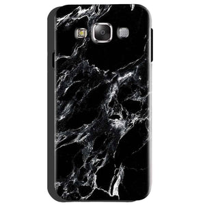 Samsung Galaxy A8 Mobile Covers Cases Pure Black Marble Texture - Lowest Price - Paybydaddy.com