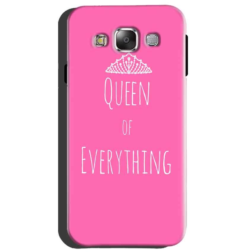 Samsung Galaxy A8 Mobile Covers Cases Queen Of Everything Pink White - Lowest Price - Paybydaddy.com