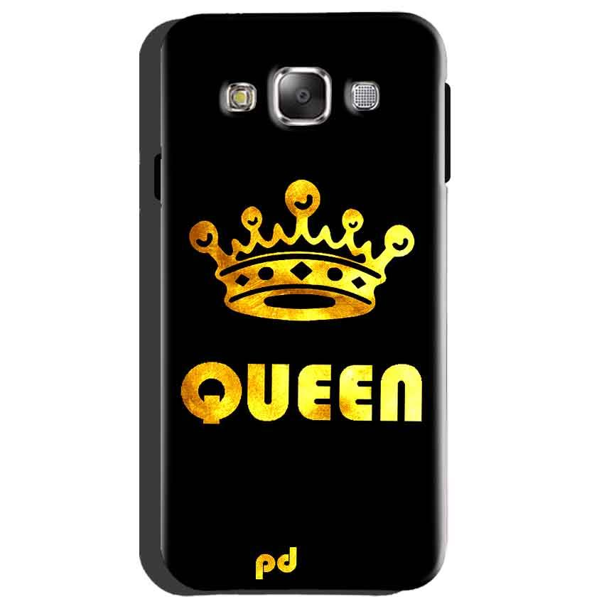 Samsung Galaxy A8 Mobile Covers Cases Queen With Crown in gold - Lowest Price - Paybydaddy.com