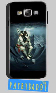 Samsung Galaxy A8 Shiva Smoking Mobile Back Cover Case