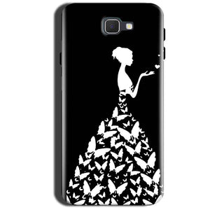 Samsung Galaxy A9 Pro 2016 Mobile Covers Cases Butterfly black girl - Lowest Price - Paybydaddy.com