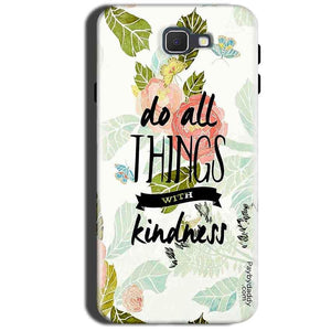 Samsung Galaxy A9 Pro 2016 Mobile Covers Cases Do all things with kindness - Lowest Price - Paybydaddy.com