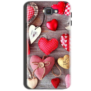 Samsung Galaxy A9 Pro 2016 Mobile Covers Cases Hearts- Lowest Price - Paybydaddy.com