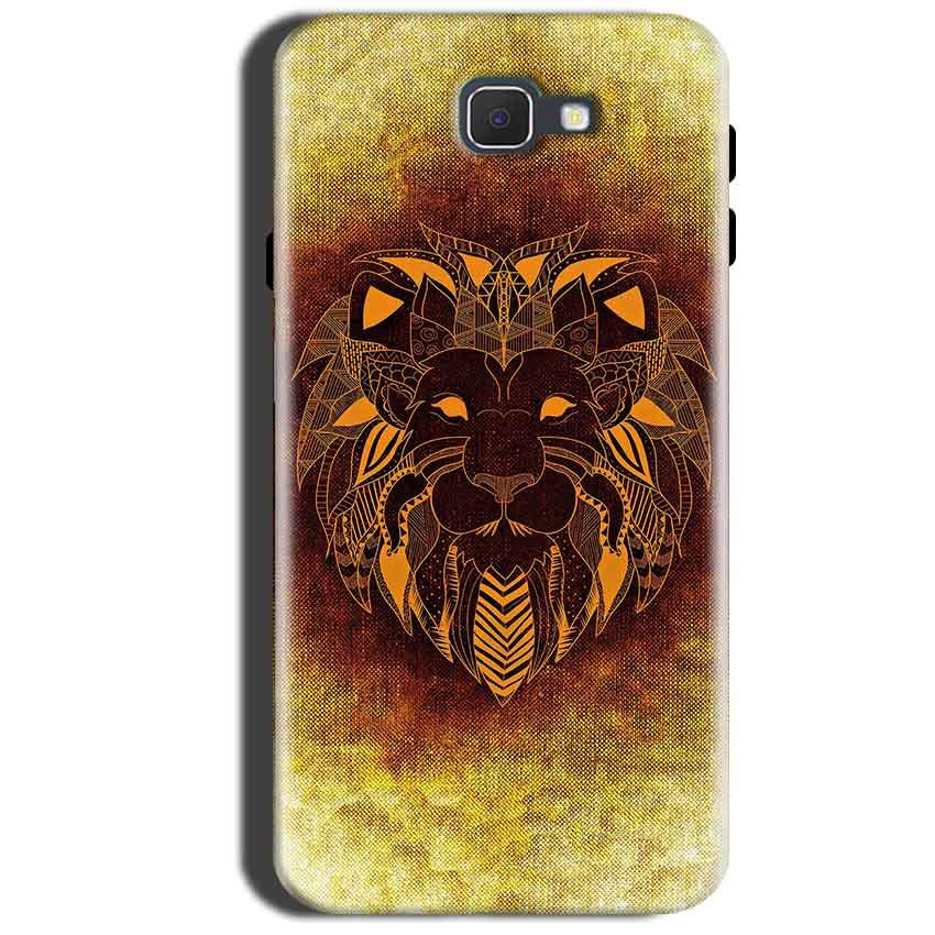 Samsung Galaxy A9 Pro 2016 Mobile Covers Cases Lion face art - Lowest Price - Paybydaddy.com