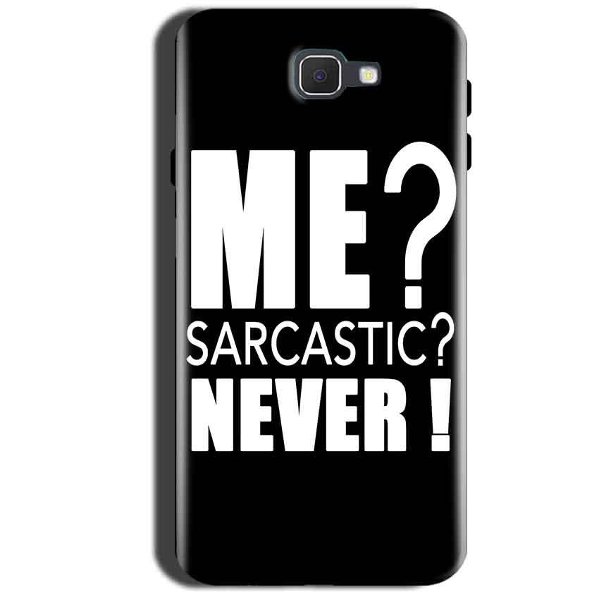 Samsung Galaxy A9 Pro 2016 Mobile Covers Cases Me sarcastic - Lowest Price - Paybydaddy.com
