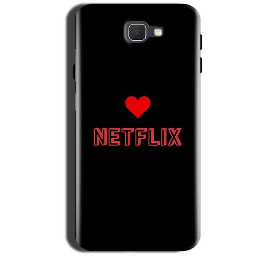 Samsung Galaxy A9 Pro 2016 Mobile Covers Cases NETFLIX WITH HEART - Lowest Price - Paybydaddy.com