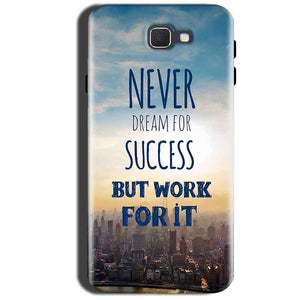 Samsung Galaxy A9 Pro 2016 Mobile Covers Cases Never Dreams For Success But Work For It Quote - Lowest Price - Paybydaddy.com
