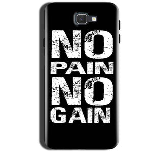 Samsung Galaxy A9 Pro 2016 Mobile Covers Cases No Pain No Gain Black And White - Lowest Price - Paybydaddy.com