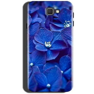 Samsung Galaxy C5 Pro Mobile Covers Cases Blue flower - Lowest Price - Paybydaddy.com