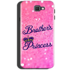 Samsung Galaxy C5 Pro Mobile Covers Cases Brothers princess - Lowest Price - Paybydaddy.com