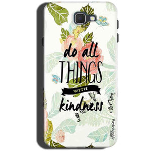 Samsung Galaxy C5 Pro Mobile Covers Cases Do all things with kindness - Lowest Price - Paybydaddy.com