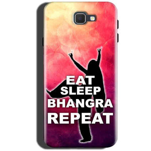 Samsung Galaxy C5 Pro Mobile Covers Cases EAT SLEEP BHANGRA REPEAT - Lowest Price - Paybydaddy.com