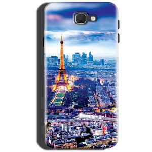 Samsung Galaxy C5 Pro Mobile Covers Cases Eiffel Tower Light View - Lowest Price - Paybydaddy.com