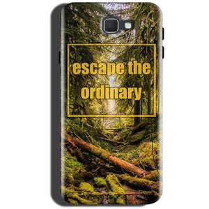 Samsung Galaxy C5 Pro Mobile Covers Cases Escape the nature - Lowest Price - Paybydaddy.com