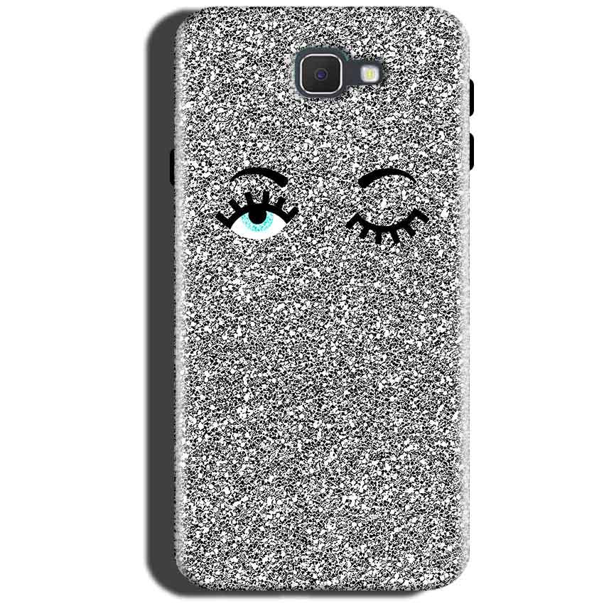 Samsung Galaxy C5 Pro Mobile Covers Cases Glitter Eye Wink - Lowest Price - Paybydaddy.com
