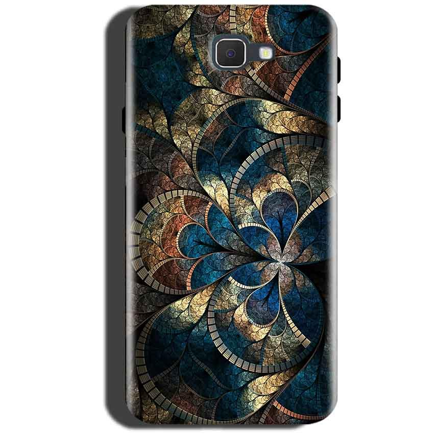 Samsung Galaxy C5 Pro Mobile Covers Cases Gold Colorful Texture Pattern - Lowest Price - Paybydaddy.com