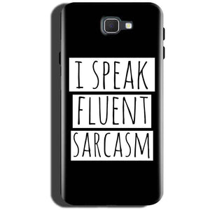 Samsung Galaxy C5 Pro Mobile Covers Cases i speak fluent sarcasam - Lowest Price - Paybydaddy.com