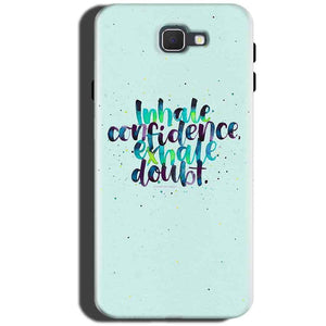 Samsung Galaxy C5 Pro Mobile Covers Cases inhale Confidence Exhale Doubt - Lowest Price - Paybydaddy.com