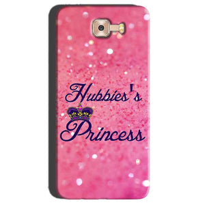Samsung Galaxy C7 Pro Mobile Covers Cases Hubbies Princess - Lowest Price - Paybydaddy.com