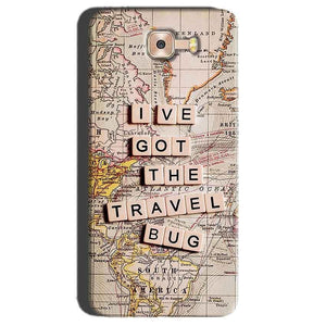 Samsung Galaxy C7 Pro Mobile Covers Cases Live Travel Bug - Lowest Price - Paybydaddy.com