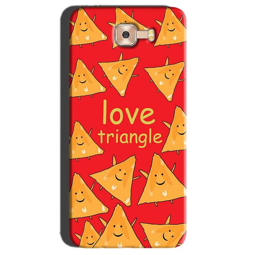 Samsung Galaxy C7 Pro Mobile Covers Cases Love Triangle - Lowest Price - Paybydaddy.com