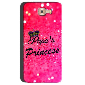 Samsung Galaxy C7 Pro Mobile Covers Cases PAPA PRINCESS - Lowest Price - Paybydaddy.com