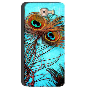 Samsung Galaxy C7 Pro Mobile Covers Cases Peacock blue wings - Lowest Price - Paybydaddy.com