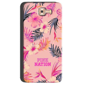 Samsung Galaxy C7 Pro Mobile Covers Cases Pink nation - Lowest Price - Paybydaddy.com