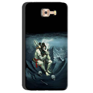 Samsung Galaxy C7 Pro Mobile Covers Cases Shiva Smoking - Lowest Price - Paybydaddy.com