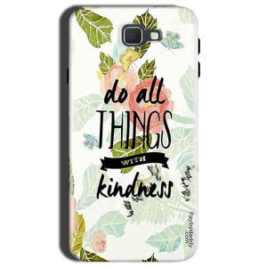 Samsung Galaxy C9 Pro Mobile Covers Cases Do all things with kindness - Lowest Price - Paybydaddy.com