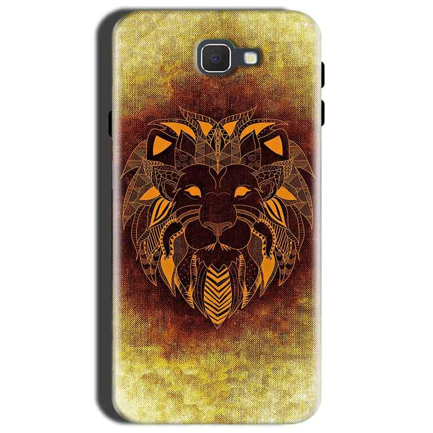 Samsung Galaxy C9 Pro Mobile Covers Cases Lion face art - Lowest Price - Paybydaddy.com