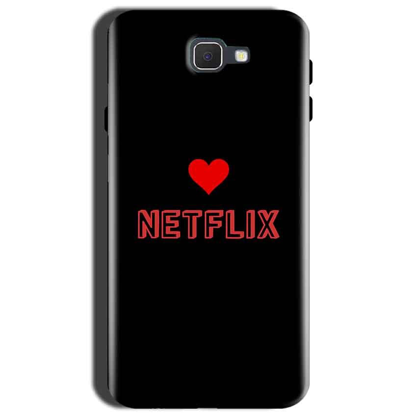 Samsung Galaxy C9 Pro Mobile Covers Cases NETFLIX WITH HEART - Lowest Price - Paybydaddy.com