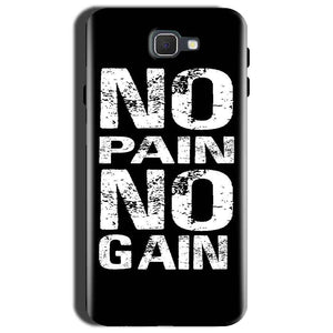 Samsung Galaxy C9 Pro Mobile Covers Cases No Pain No Gain Black And White - Lowest Price - Paybydaddy.com